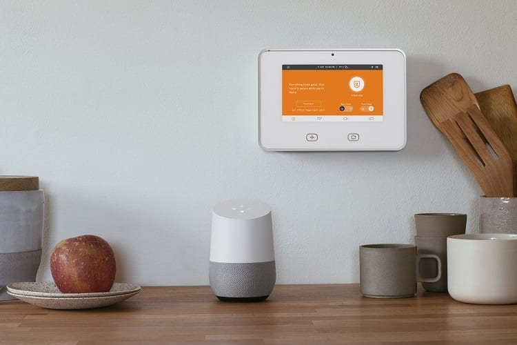 Vivint with google home