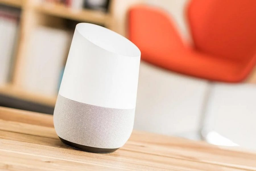 Security options with google home