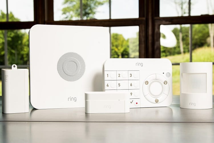 ring self monitored security system