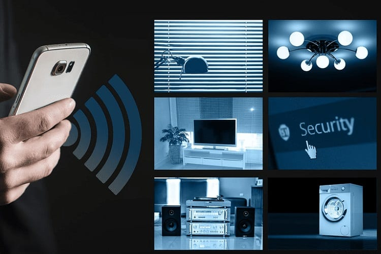 home controlling with smart security
