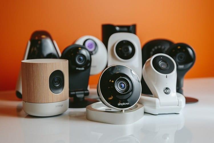 mixing security cams
