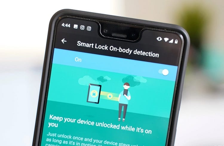 smart lock on body functions